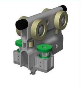 standardowy hamulec 266x300 - System lekkobieżnych szyn aluminiowych System lekkobieżnych szyn aluminiowych