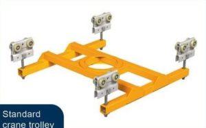 standardowy wózek dźwigowy 300x187 - System lekkobieżnych szyn aluminiowych System lekkobieżnych szyn aluminiowych