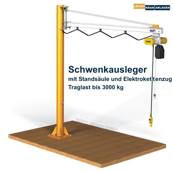 stroedter schwenkausleger 01 - Wciągnik łańcuchowy – podstawowe informacje Wciągnik łańcuchowy – podstawowe informacje