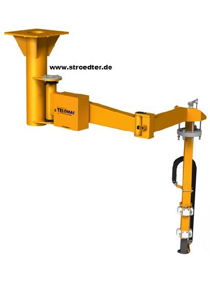TELO-MAT jako urządzenie podwieszone z ramieniem przegubowym bez chwytaka