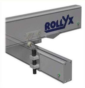 zatrzaski typu snap in do systemu rollyx 1 289x300 - System lekkobieżnych szyn aluminiowych System lekkobieżnych szyn aluminiowych